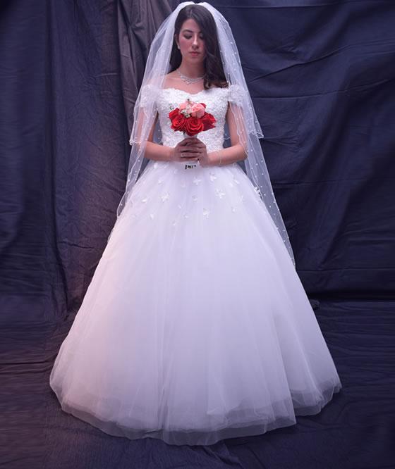 Vestido boda blanco